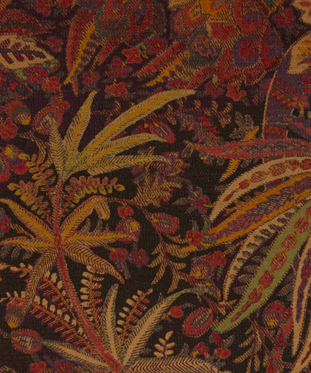 Liberty Fabrics Interiors - Shand Voyage Vintage Velvet in Lacquer