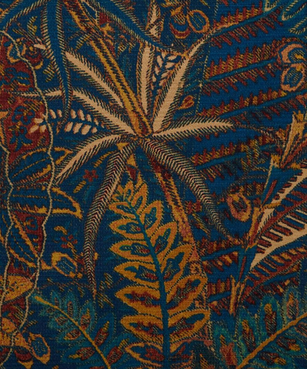 Liberty Fabrics Interiors - Shand Voyage Vintage Velvet in Lapis