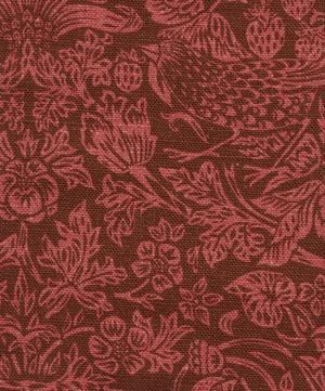 Strawberry Meadowfield Ladbroke Linen in Lacquer