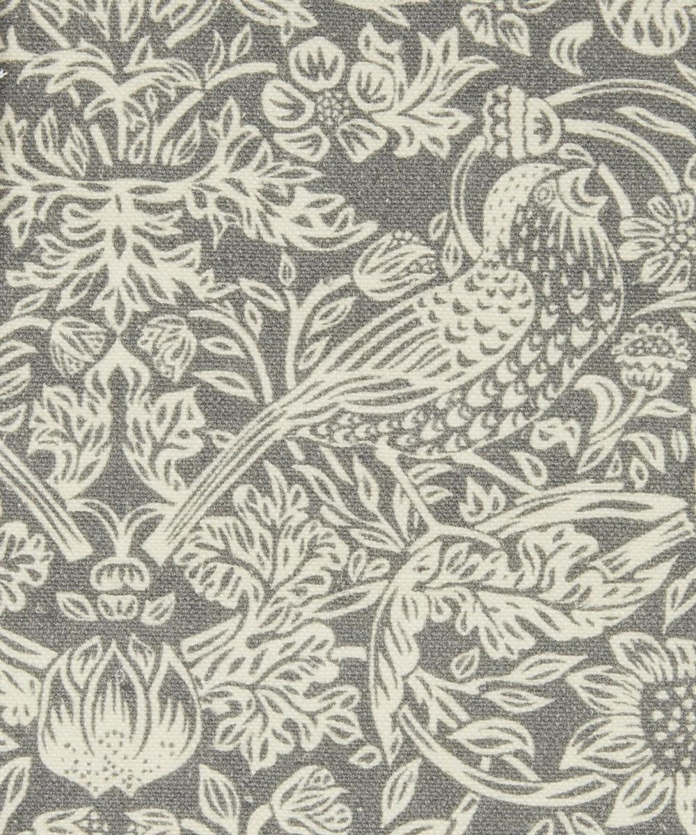 Liberty Fabrics Interiors - Strawberry Meadowfield Emberton Linen in Pewter