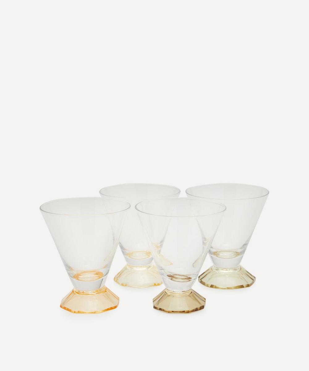 HK Living - Coloured Cocktail Glass Set of Four