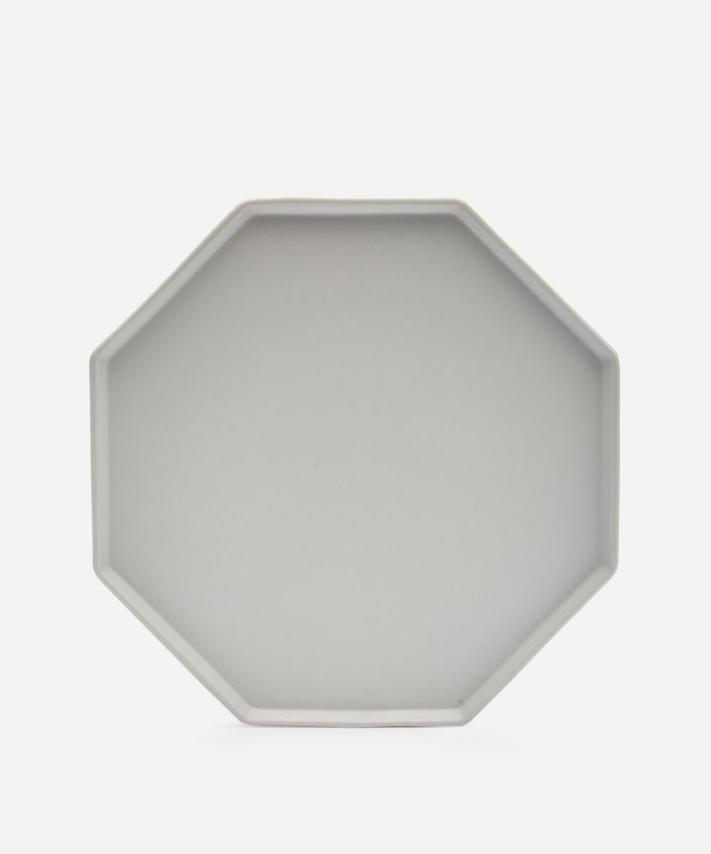 HK Living - Athena Ceramics Octagonal Porcelain Side Plate
