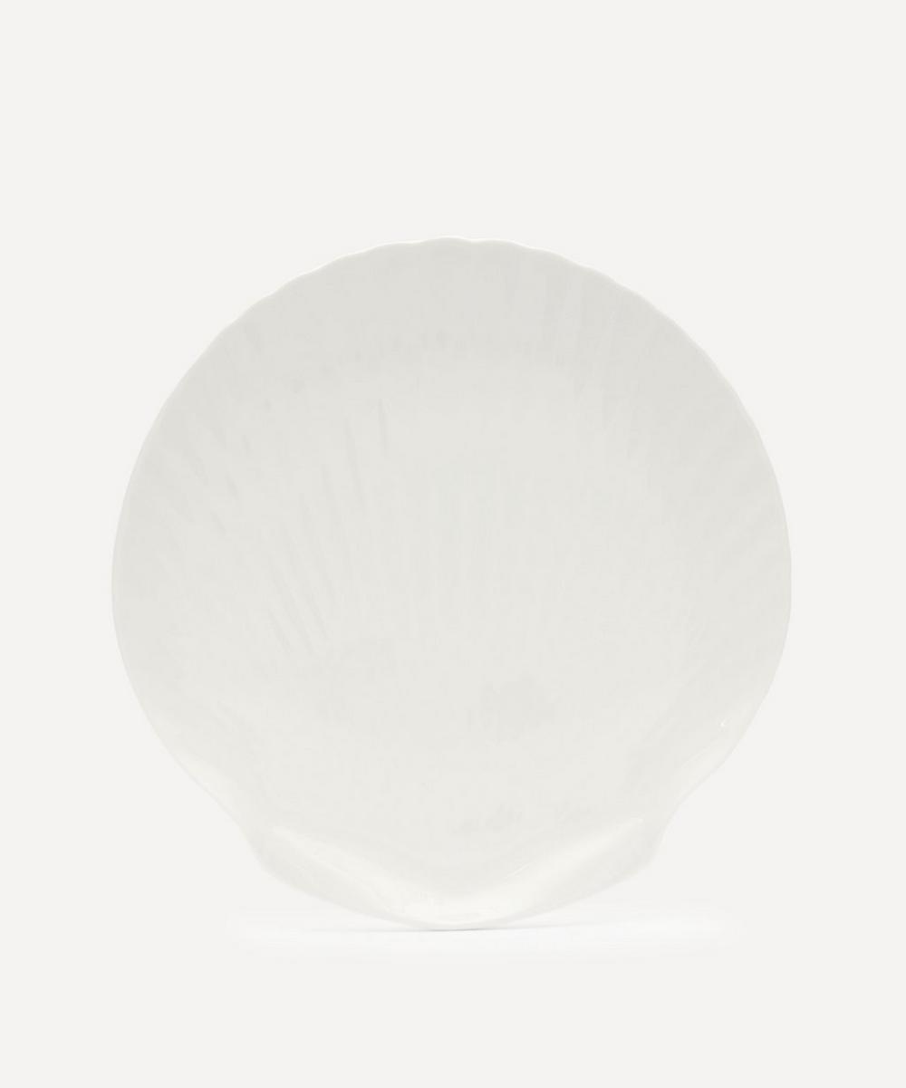 HK Living - Athena Ceramics Bone China Shell Serving Tray
