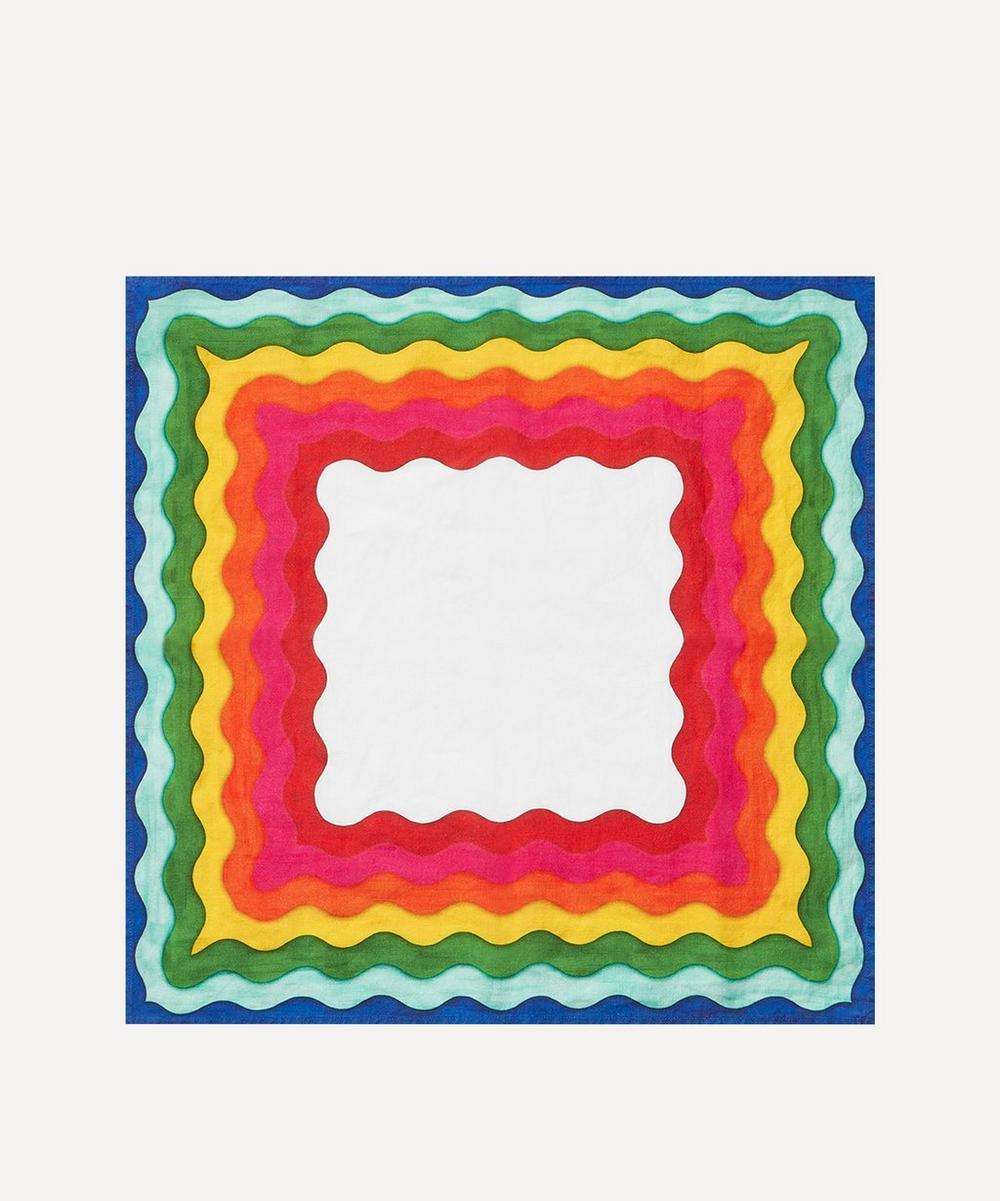 Summerill & Bishop - Rainbow Linen Single Napkin