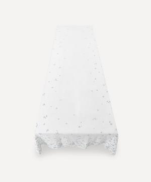 Bernadette's Falling Flowers Linen Tablecloth