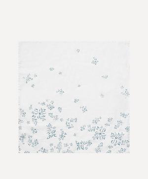 Bernadette's Falling Flowers Linen Napkin