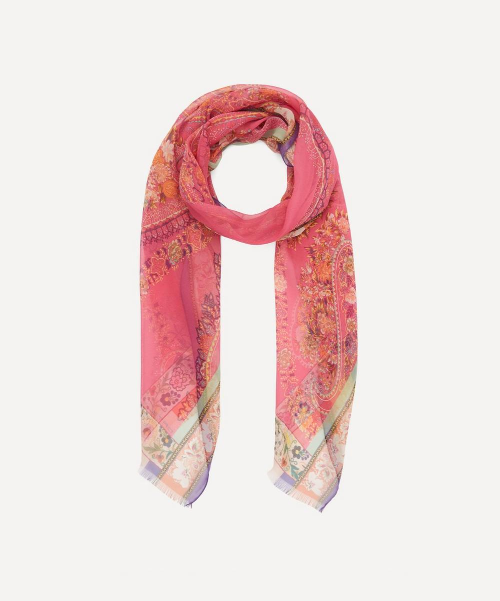 Etro - Silk Floral Paisley Scarf