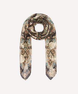 Scialle Bombay Paisley Silk Scarf