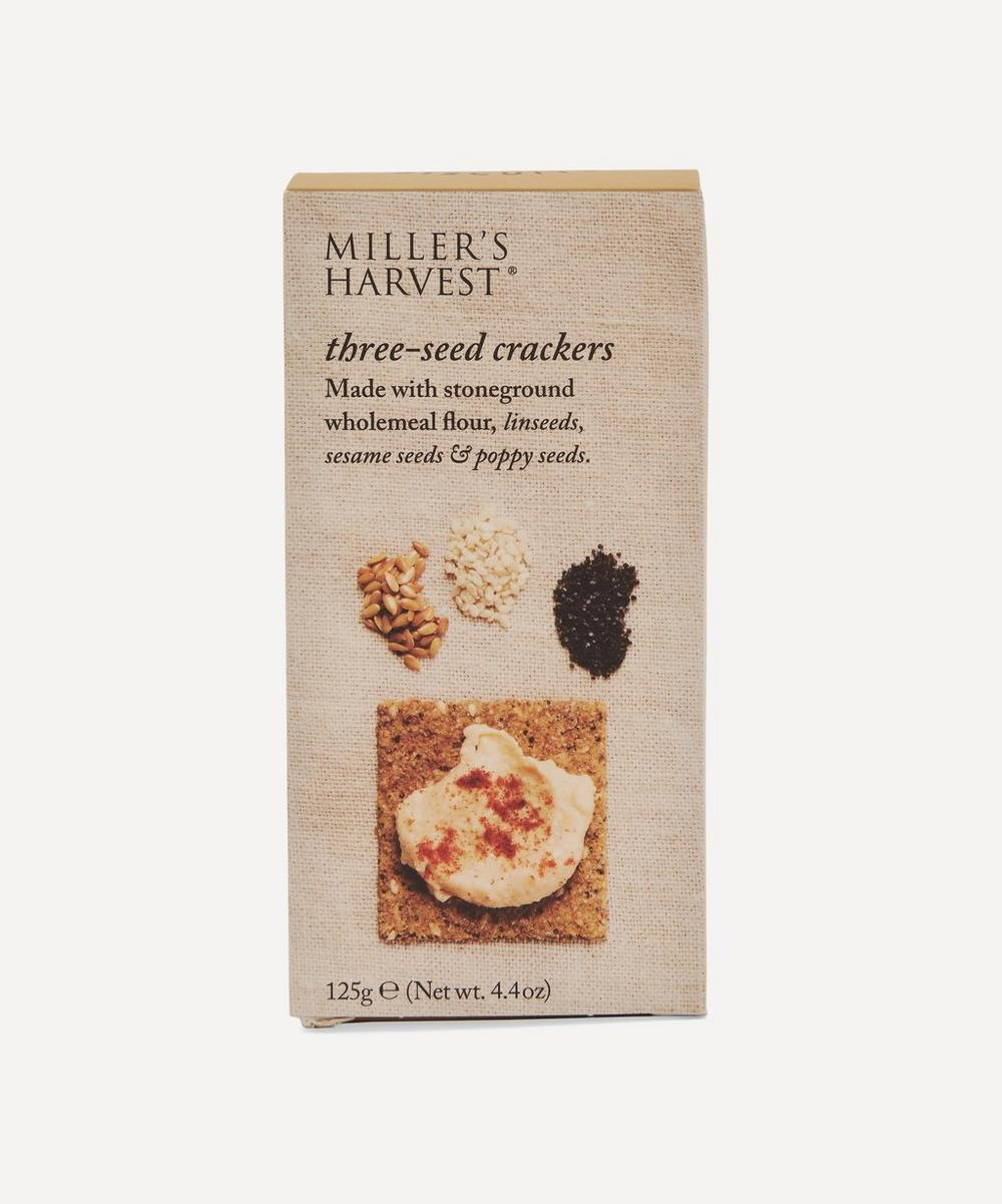 Artisan Biscuits - Miller's Harvest Three-Seed Crackers 125g