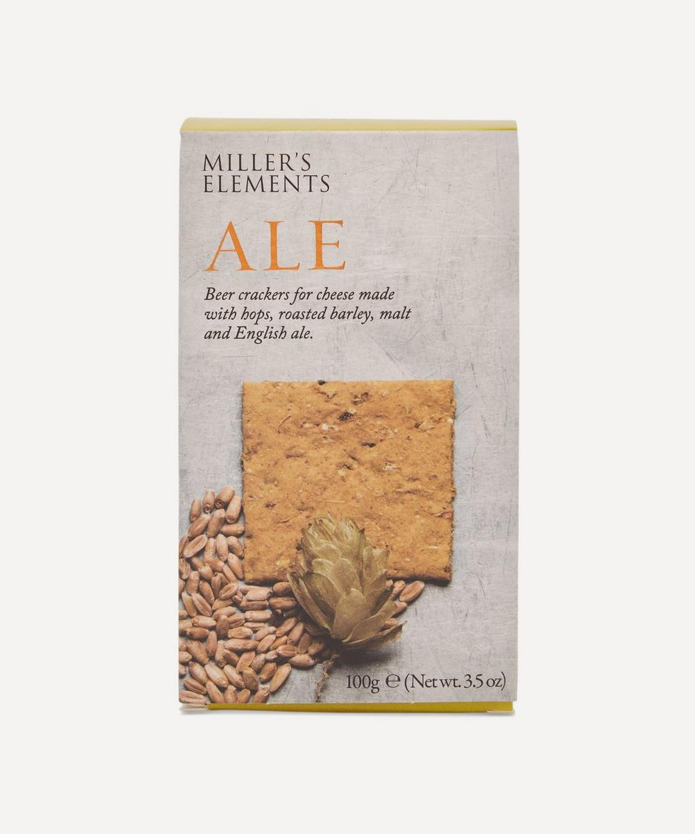 Artisan Biscuits - Miller's Elements Ale Wafer Crackers 100g