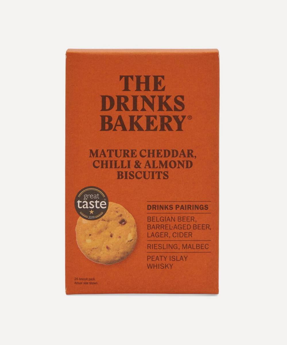 The Drinks Bakery - Mature Cheddar, Chilli & Almond Biscuits 110g