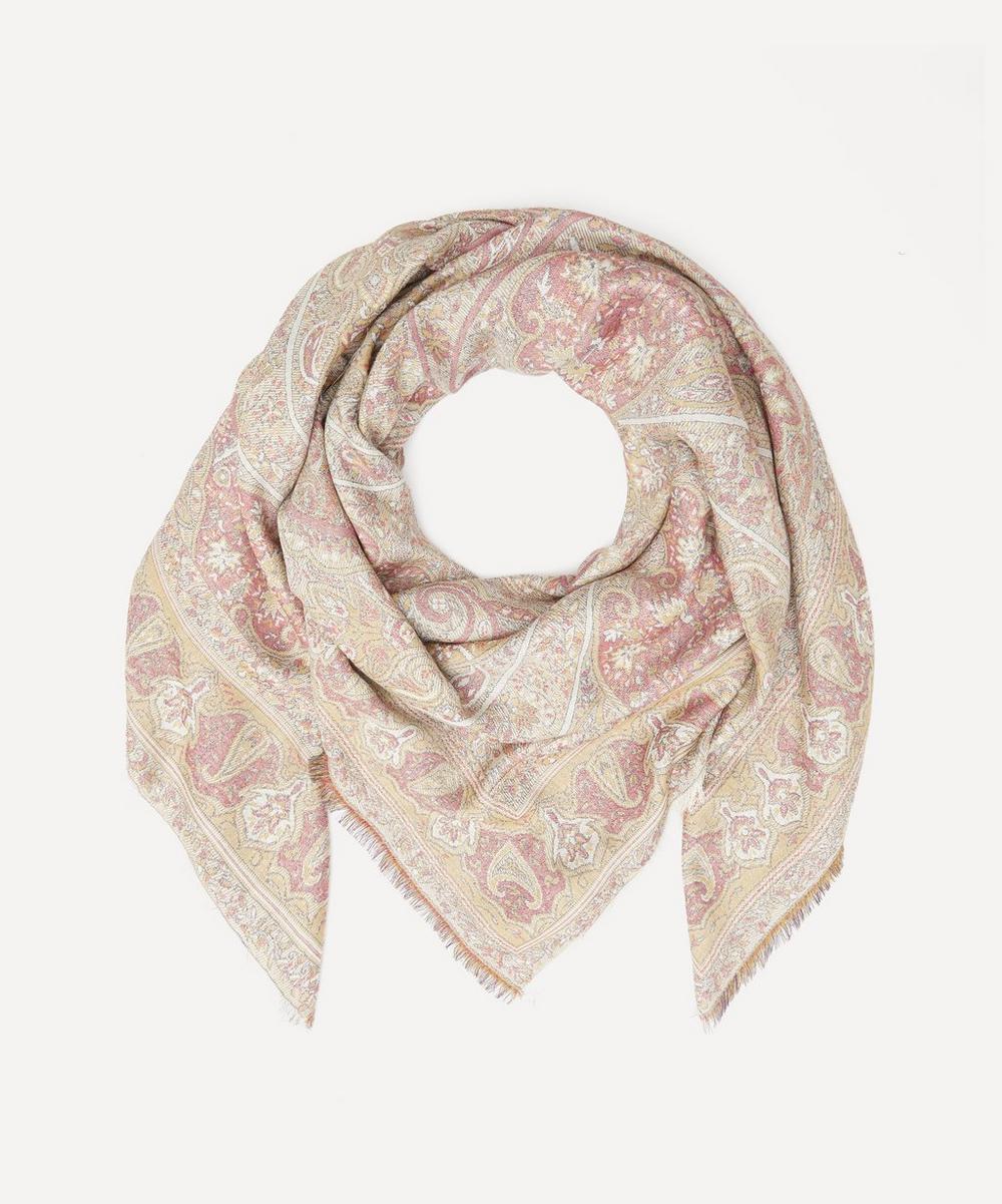 Etro - Paisley Jacquard Wool-Blend Scarf