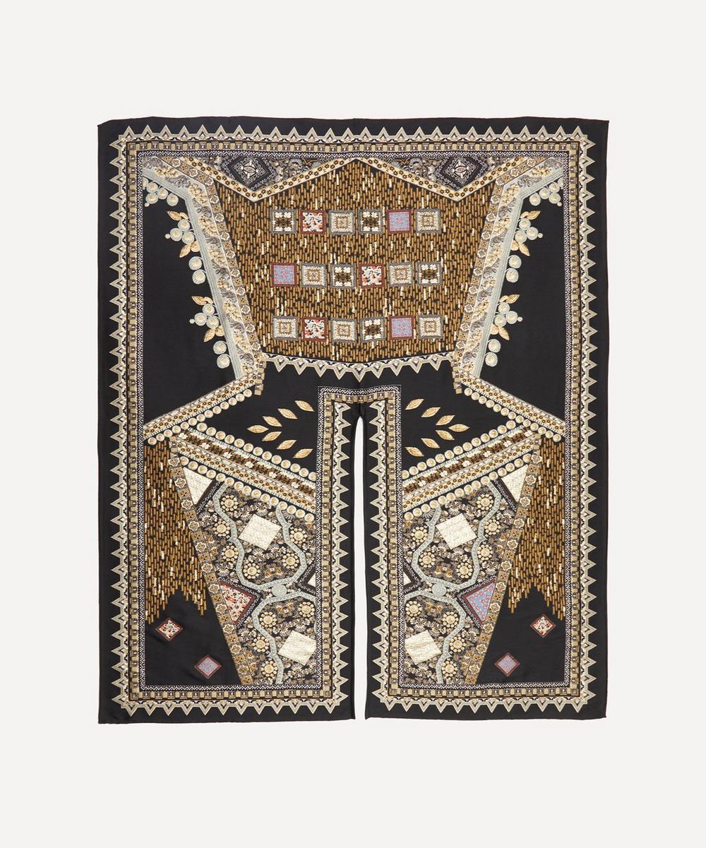 Etro - Patchwork Jacquard Wool-Blend Cloak