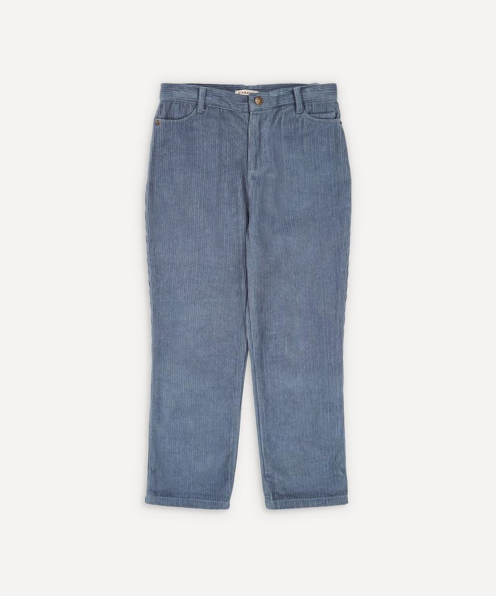 Caramel - Crow Cotton Corduroy Trousers 8 Years