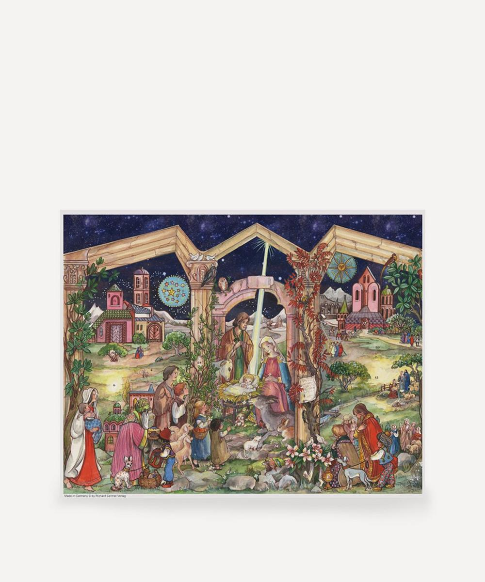Unspecified - Nativity Stable Scene Advent Calendar