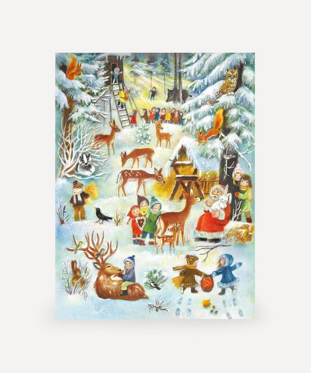 Unspecified - Woodland Snow Scene Advent Calendar