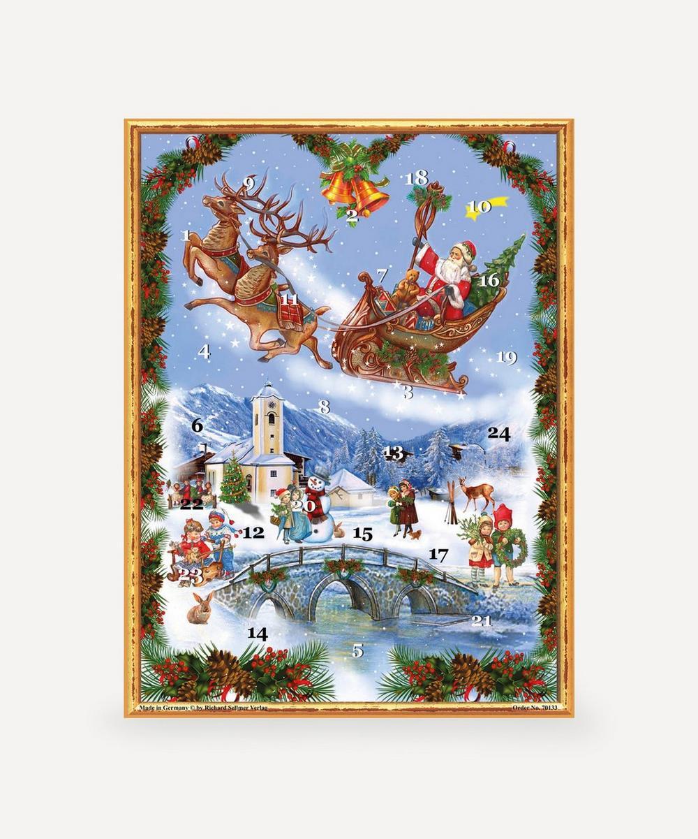 Unspecified - Santa Sleigh Advent Calendar