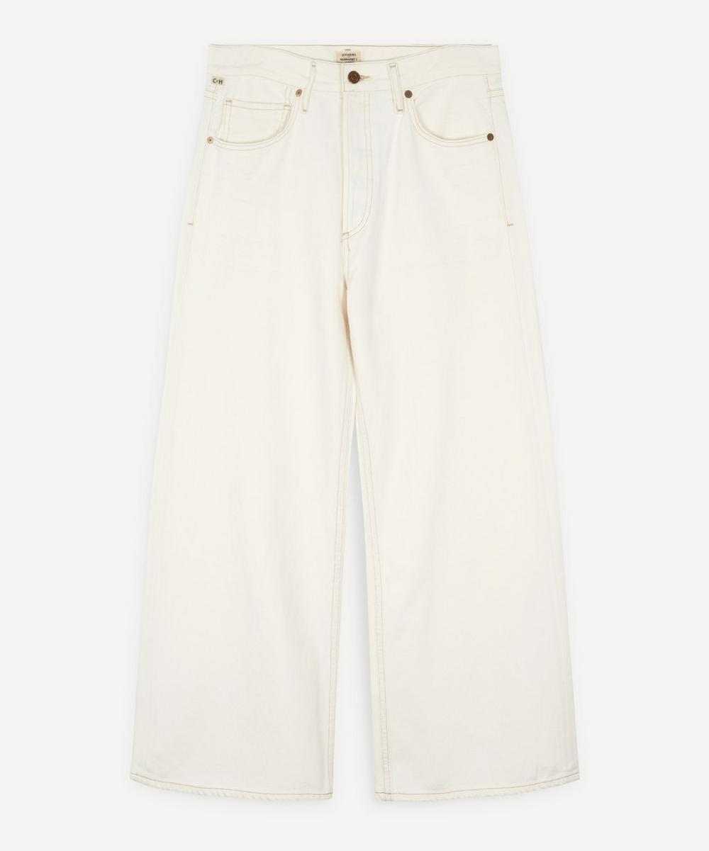 Citizens of Humanity - Serena Wide-Leg Organic Cotton Jeans