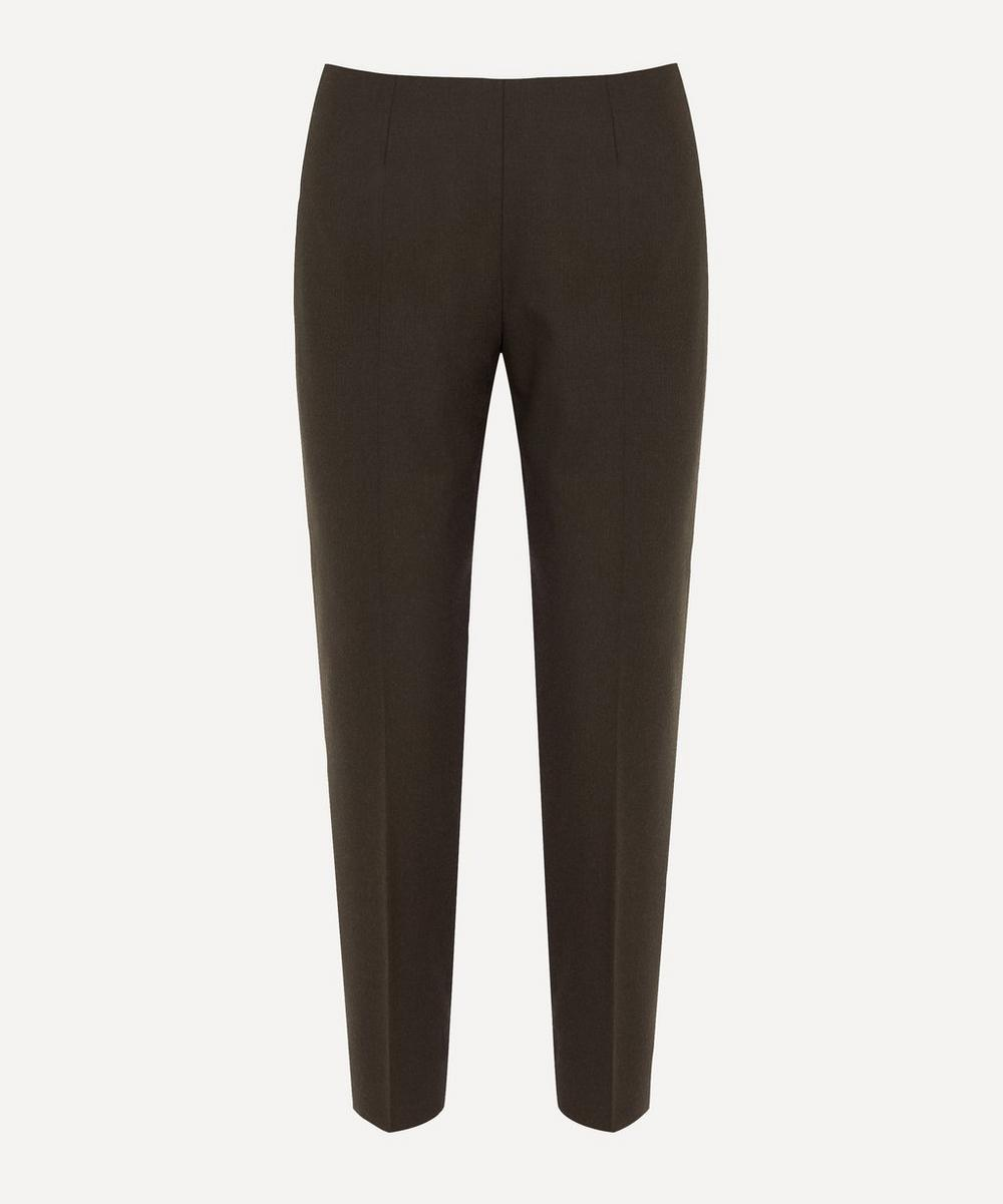 Piazza Sempione - Audrey Brown Wool Trousers