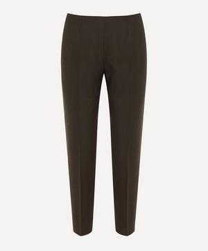 Audrey Brown Wool Trousers