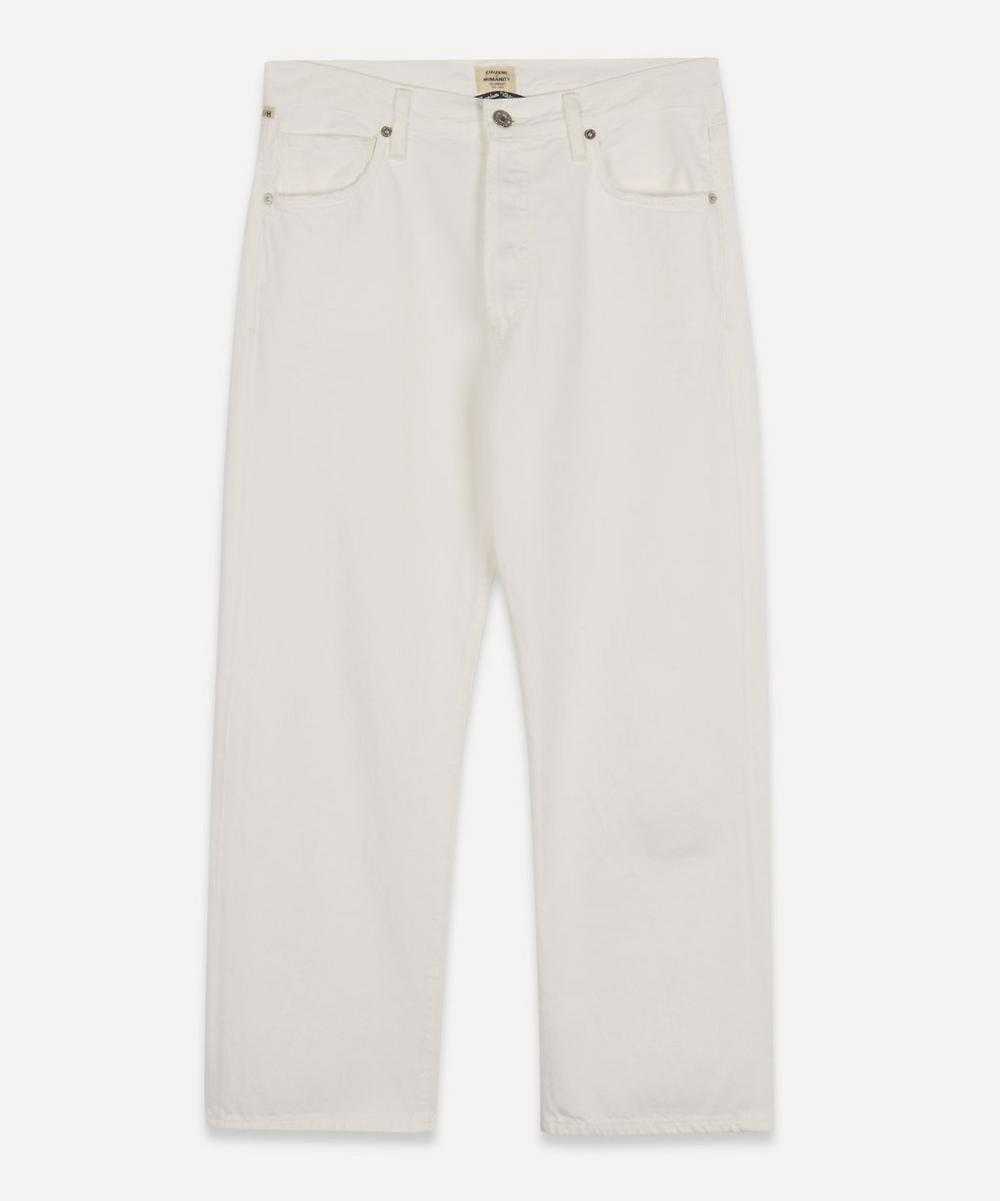 Citizens of Humanity - Emery Relaxed Crop Organic Cotton Jeans