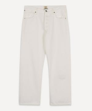 Emery Relaxed Crop Organic Cotton Jeans