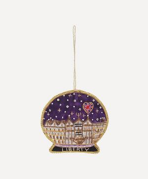 Liberty Embroidered Snow Dome Decoration
