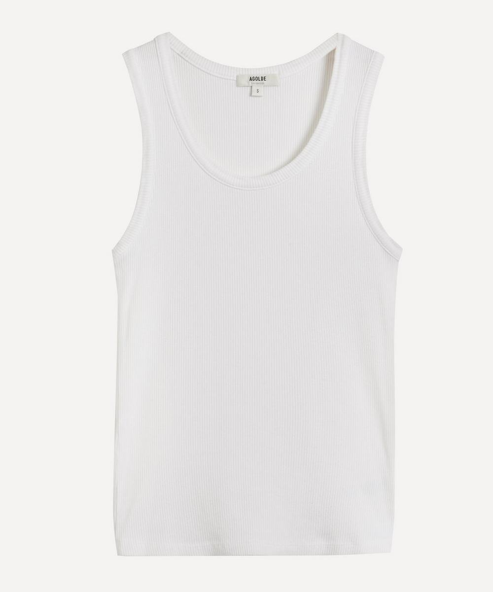 AGOLDE - Poppy Scoop Neck Tank Top