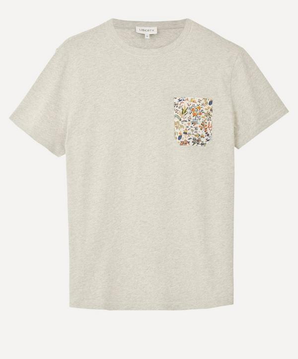 Liberty - Hopkins T-Shirt With Printed Pocket