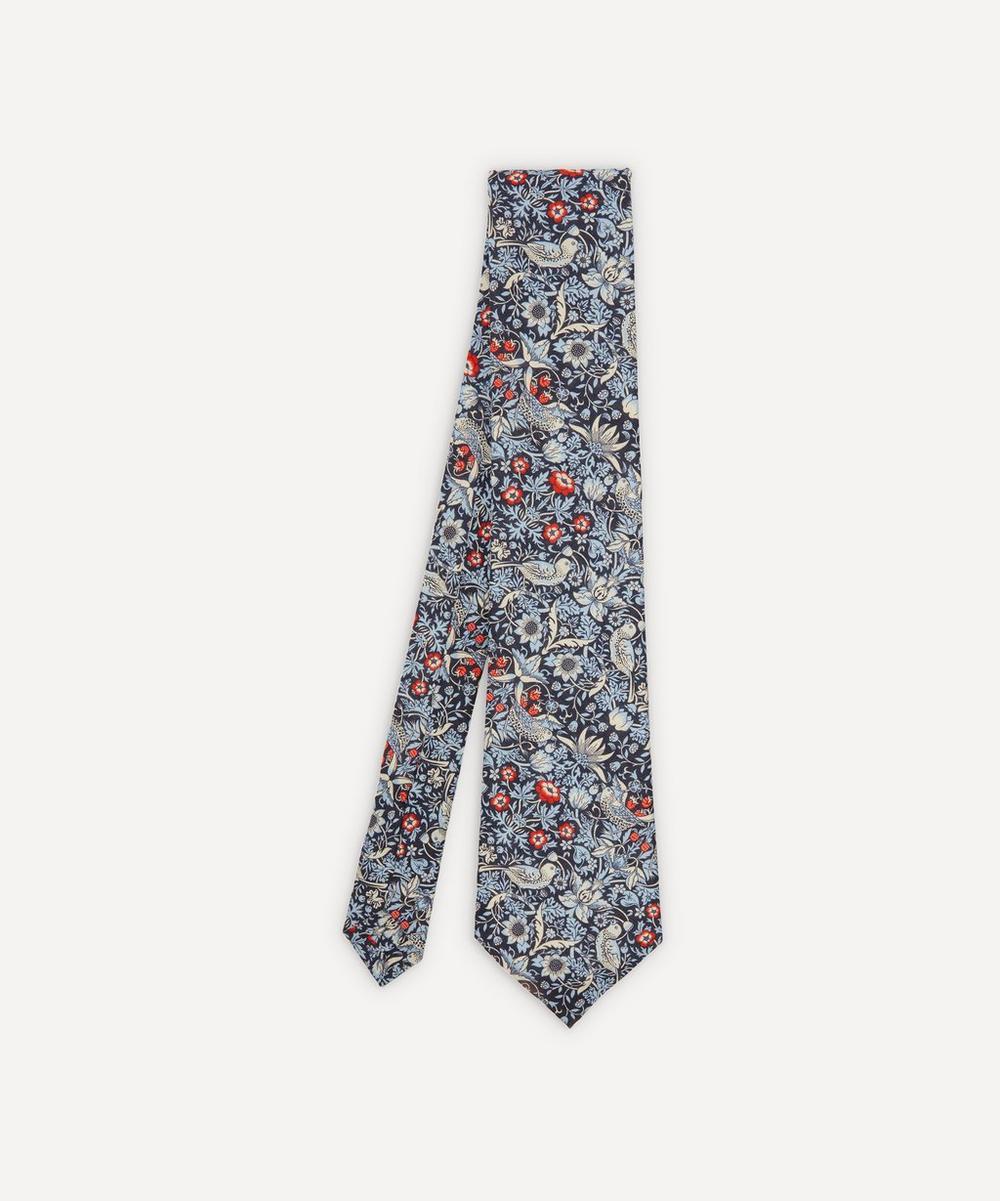 Liberty - Strawberry Thief Linen Tie