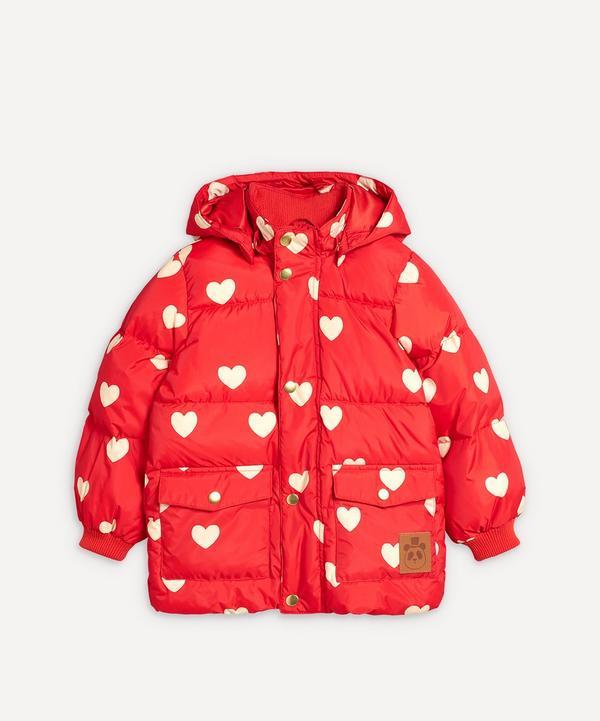 Mini Rodini - Hearts Baby Puffer Jacket 6-18 Months