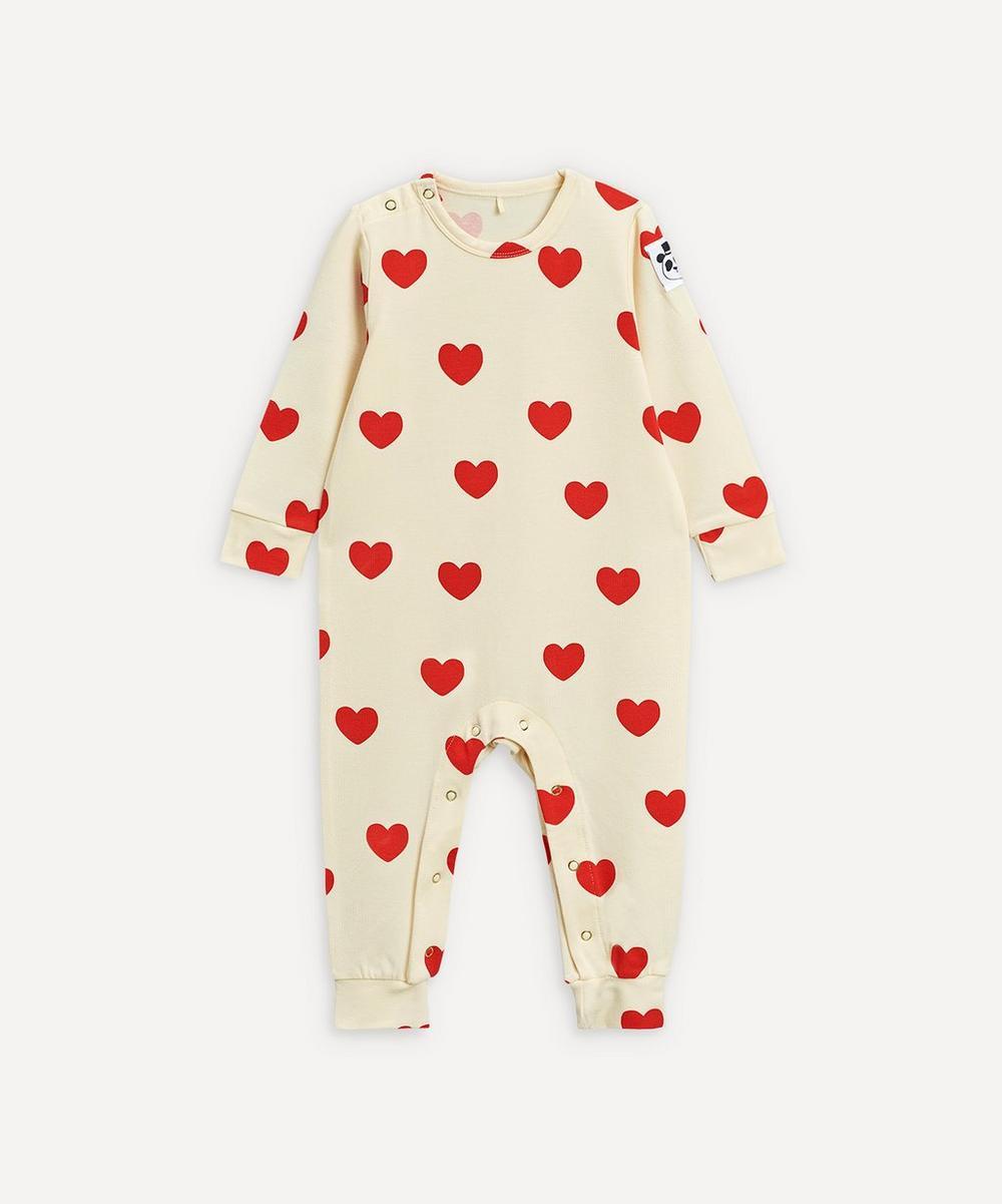 Mini Rodini - Hearts Jumpsuit 3-18 Months