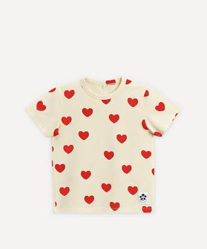 Hearts Baby Short-Sleeved T-Shirt 3-18 Months