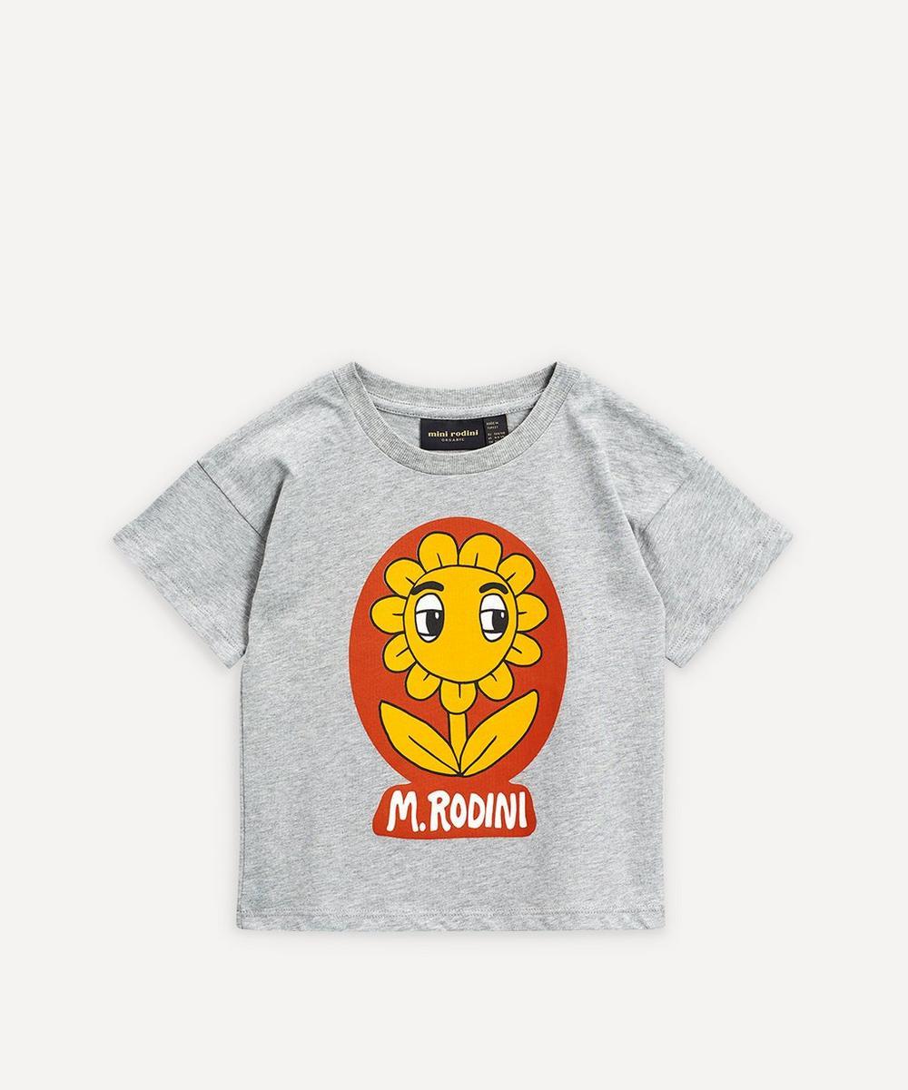 Mini Rodini - Flower Baby T-Shirt 3-18 Months