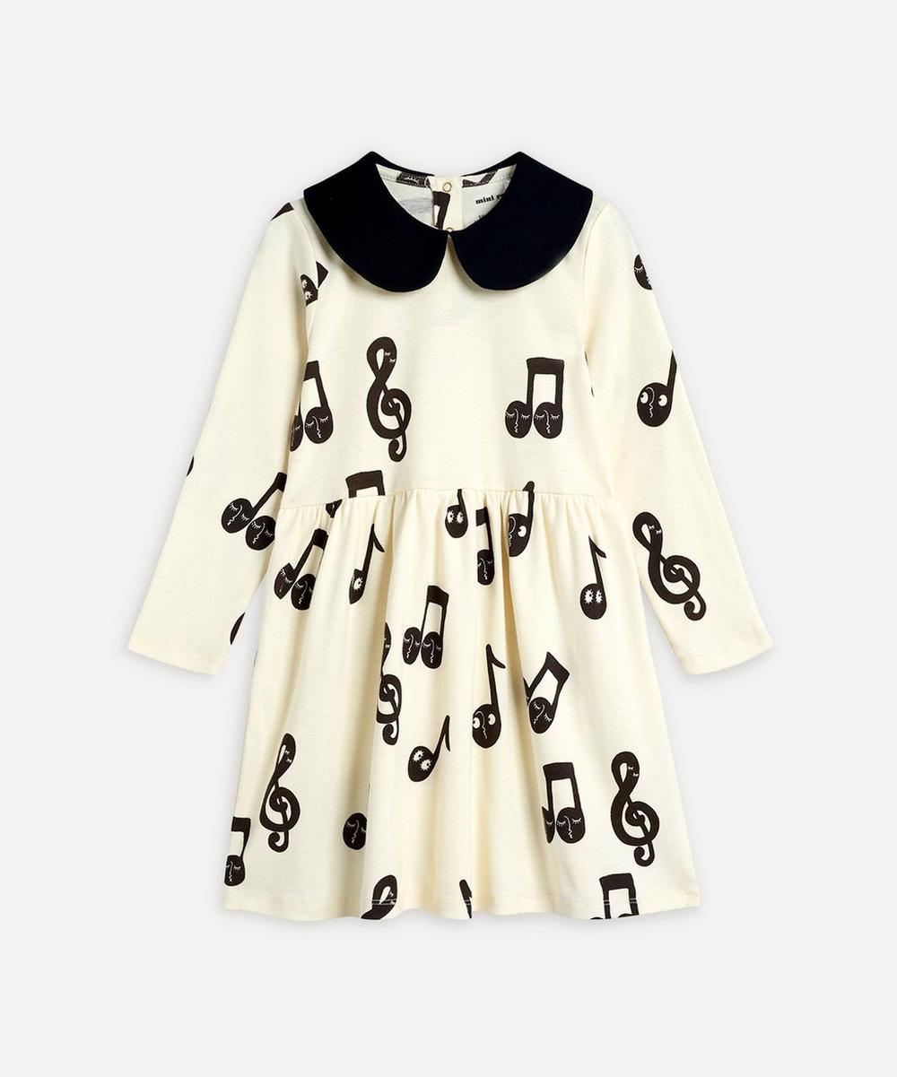 Mini Rodini - Notes Long-Sleeved Dress 2-8 Years