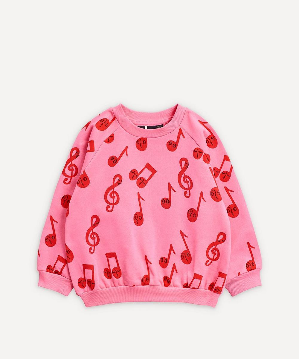 Mini Rodini - Notes Sweatshirt 2-8 Years