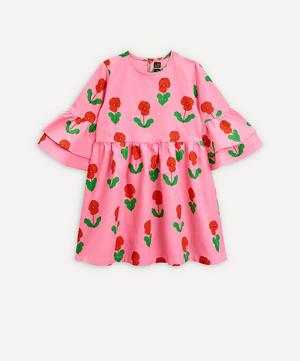 Violas Woven Flared Sleeve Dress 2-6 Years