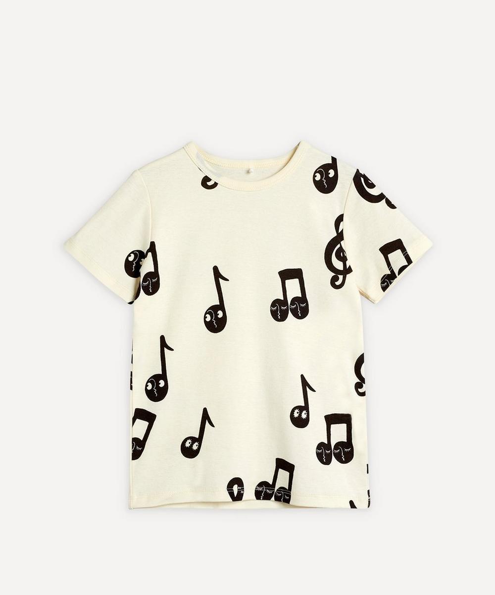 Mini Rodini - Notes T-Shirt 2-8 Years