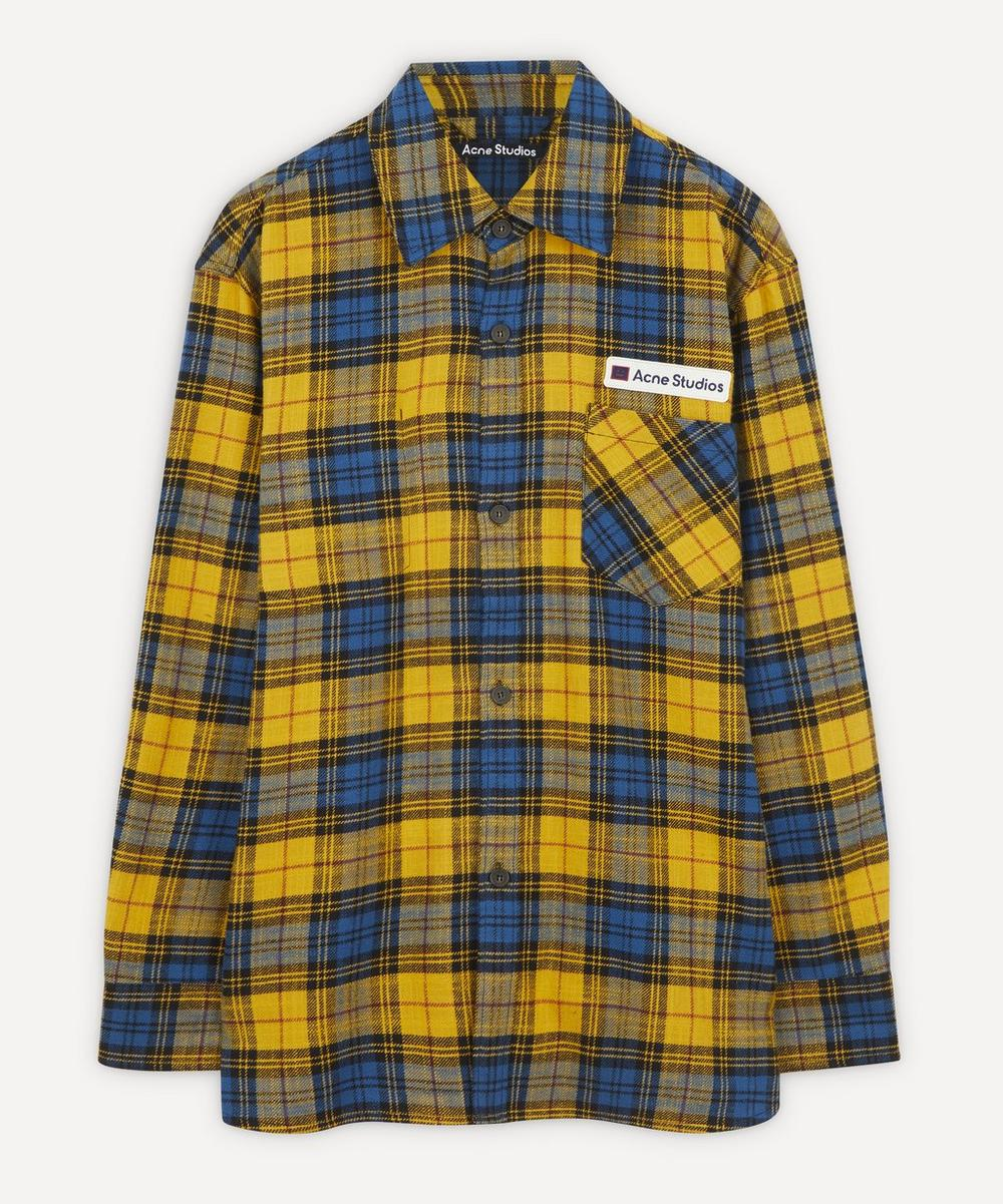 Acne Studios - Salak Face Oversized Shirt