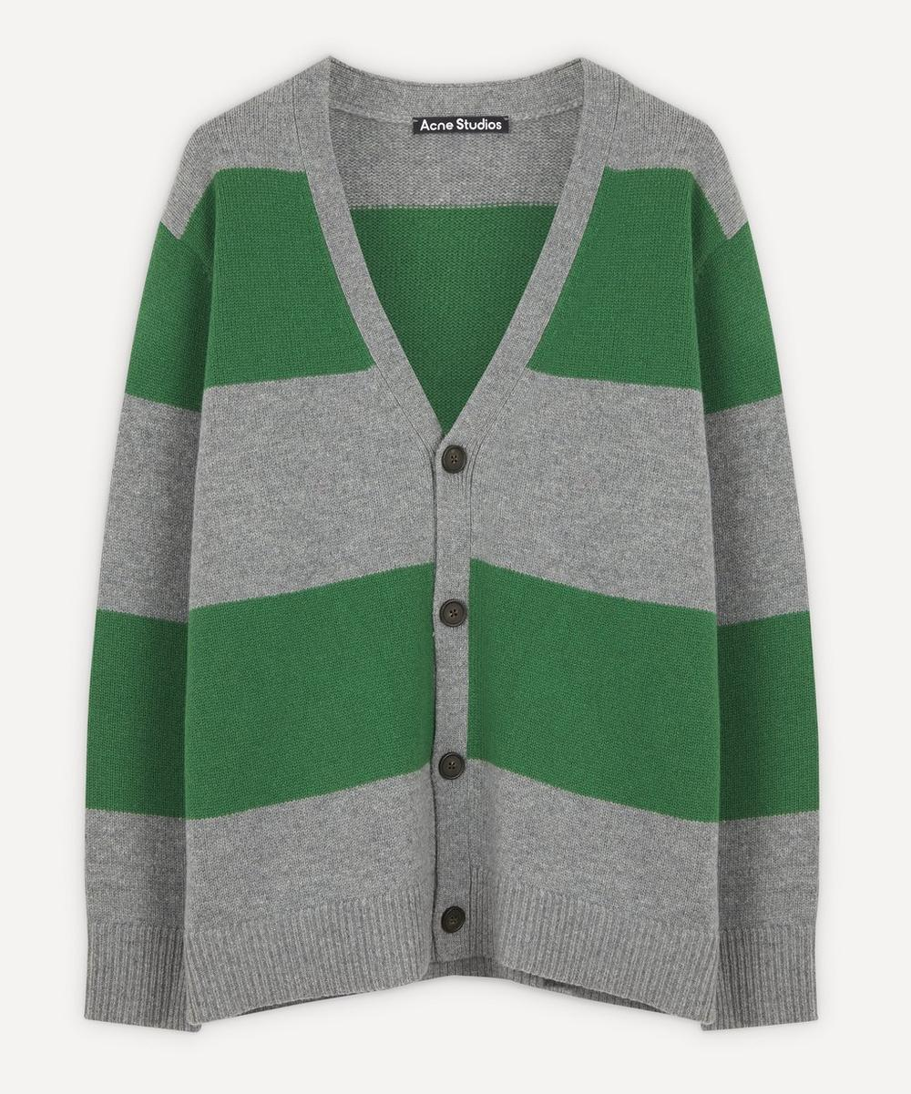 Acne Studios - Kimano Face Block Stripe Cardigan