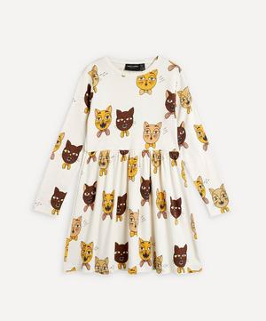Cat Choir Long-Sleeved Dress 2-8 Years