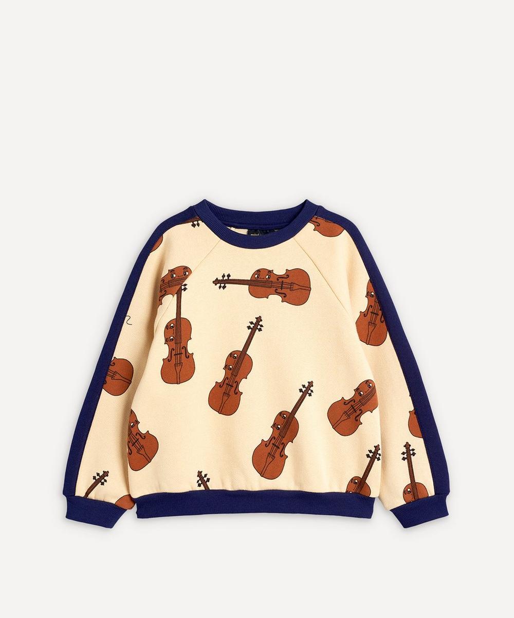 Mini Rodini - Violin Sweatshirt 2-8 Years