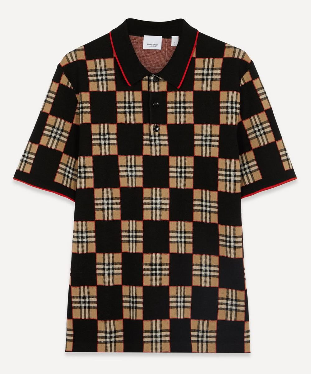 Burberry - Blakeford Merino Wool-Blend Polo-Shirt