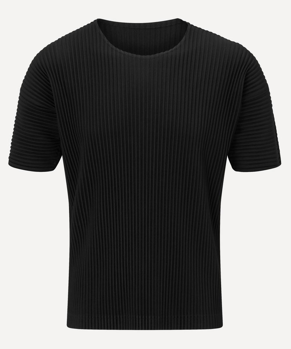 HOMME PLISSÉ ISSEY MIYAKE - Core Button-Up Polo-Shirt