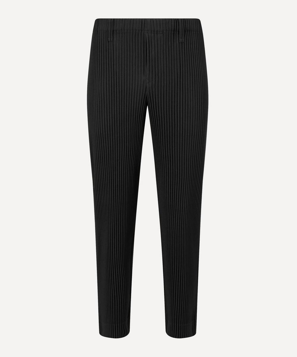 HOMME PLISSÉ ISSEY MIYAKE - Core Tapered Pleated Trousers image number 0