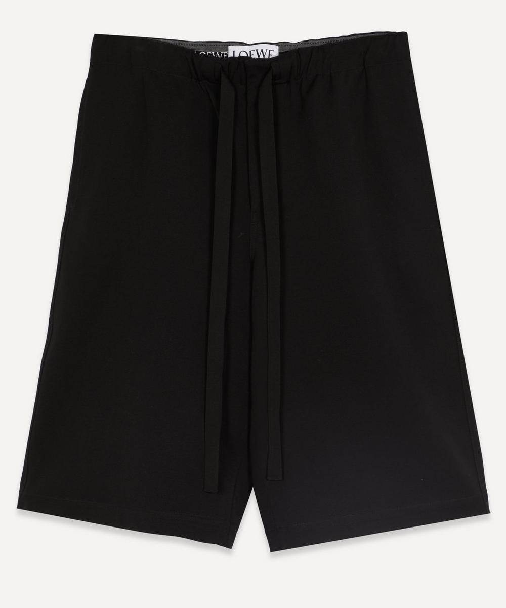 Loewe - Wool Bermuda Trousers