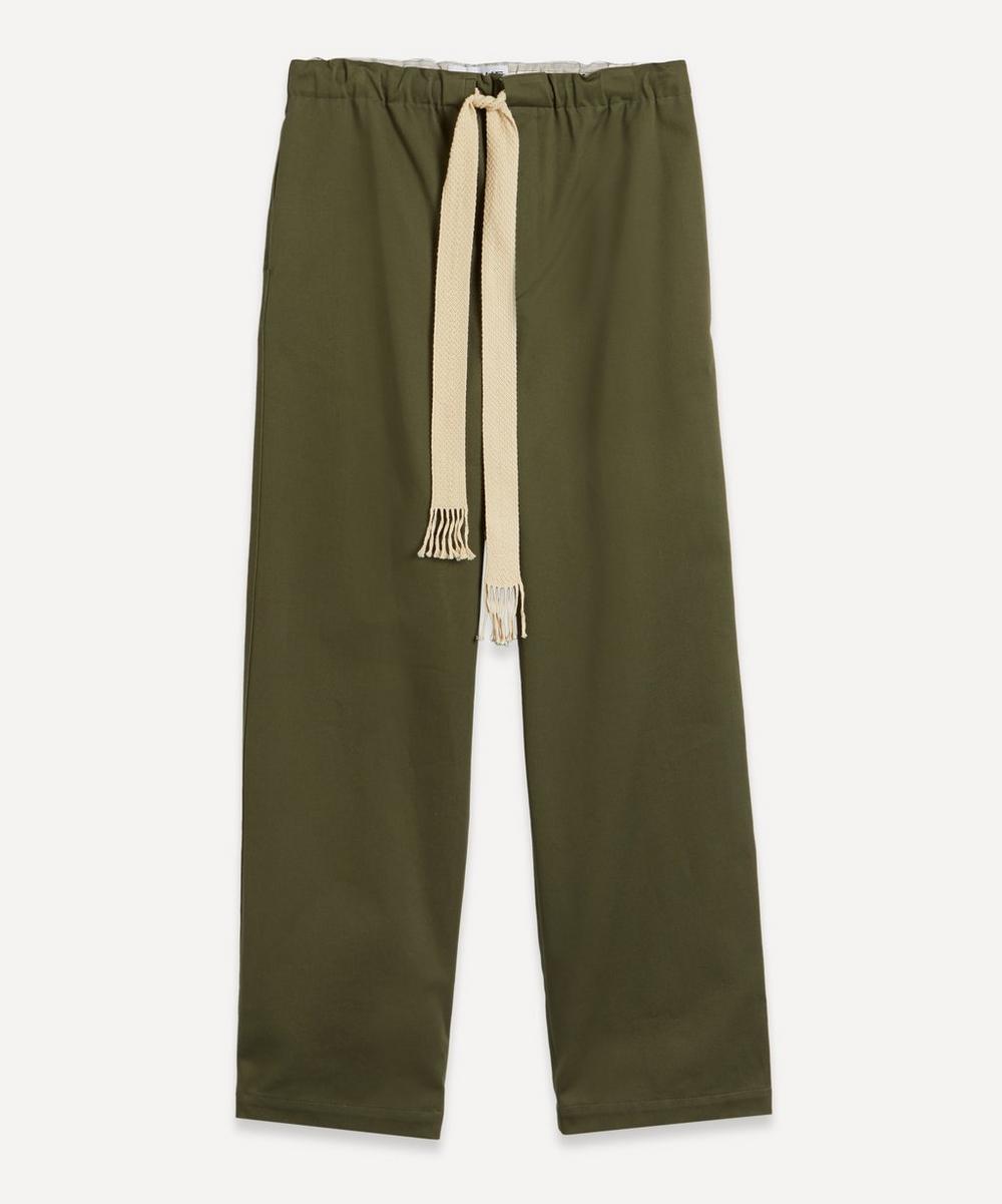 Loewe - Woven Drawstring Trousers