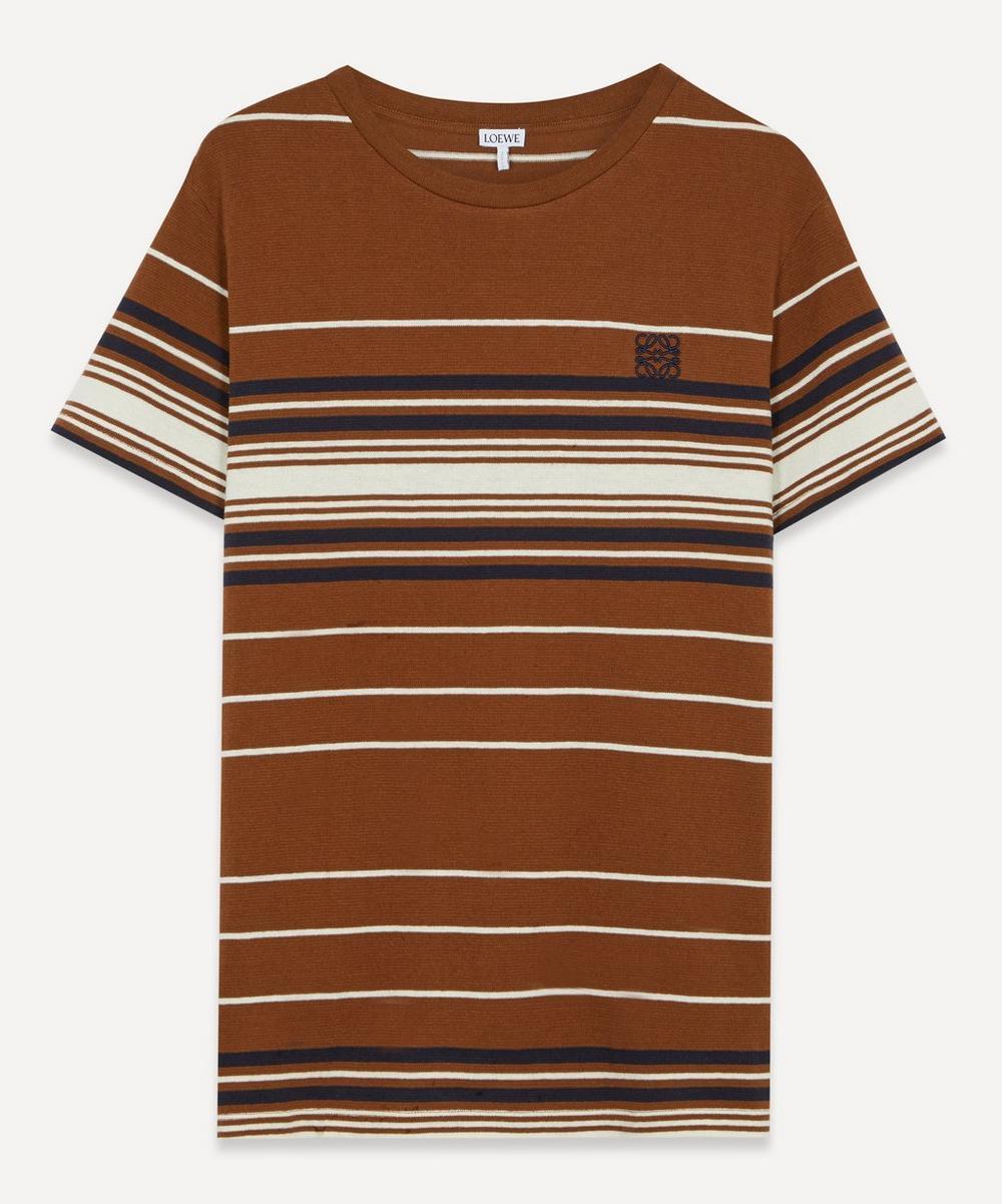 Loewe - Logo Retro Stripe T-Shirt
