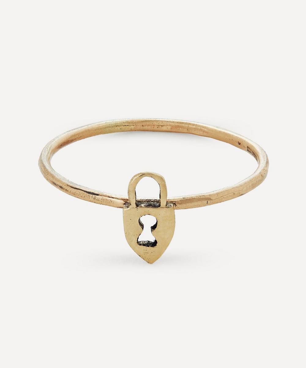 Acanthus - Gold Lock Ring