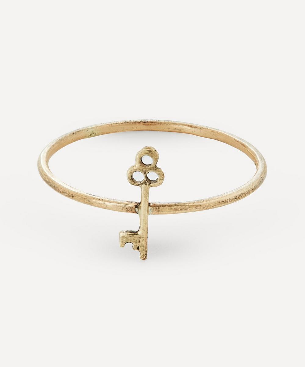 Acanthus - Gold Key Ring